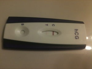 Positive Pregnancy test 2-12-13
